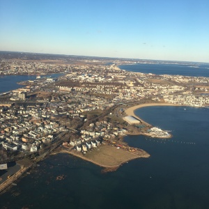 Leaving Boston Logan Airport