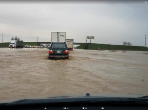 I5 Flood Near Willows CA