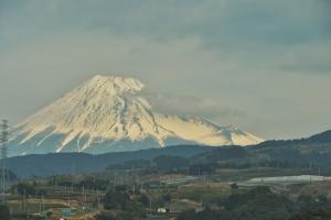Mt. Fuji from the Shinkansen