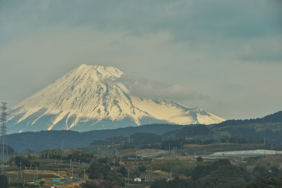 Mt. Fuji from the Shinkansen