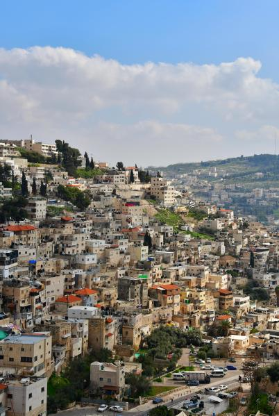 View of the Jerusalem Hills from the City of David