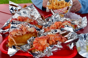 Lobster Rolls at Red's Eats